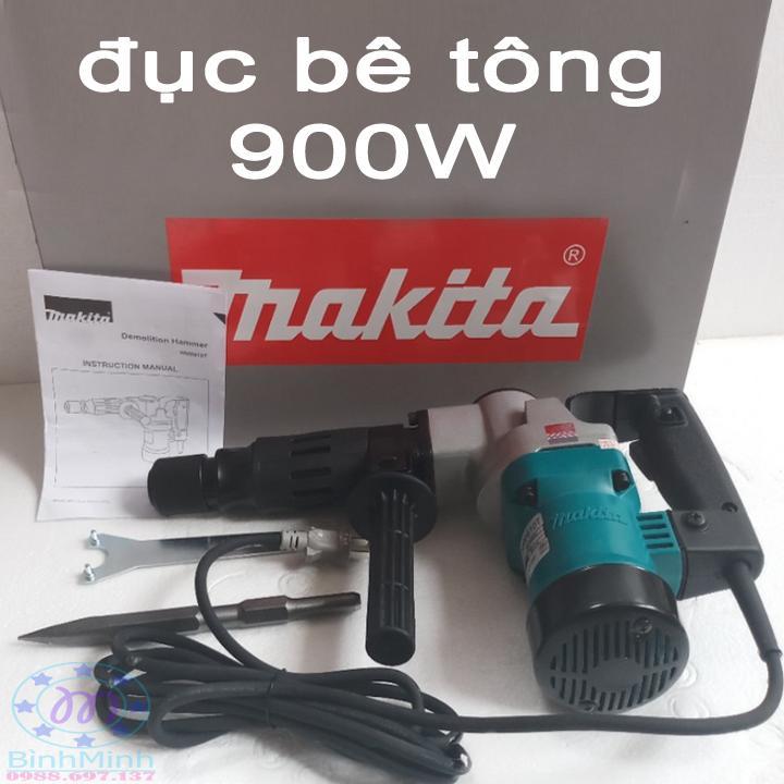 máy đục bê tông 900W - makita HM0810T