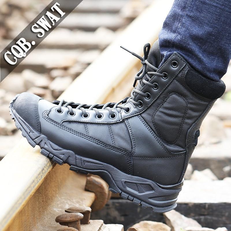 SWAT Sepatu Martin Alas Tebal Pria - 2 ...