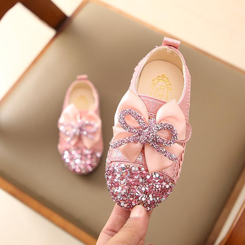 Anak-anak sepatu kulit kecil 2019 musim semi model baru Sepatu bayi Gaya  Korea anak 1478b6694d