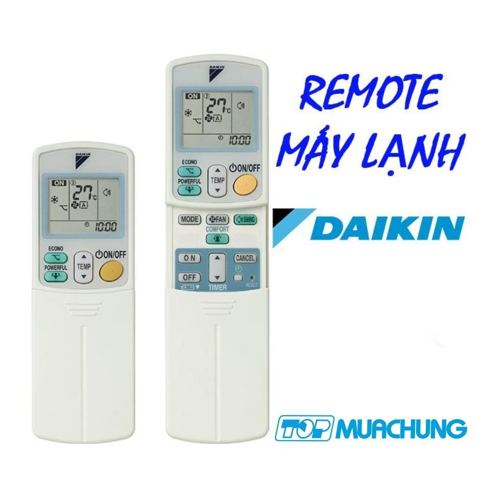 Điều khiển cho điều hòa Daikin 1 chiều và 2 chiều Inverter