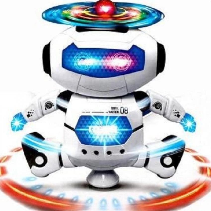 Hình ảnh Robot Thông Minh Xoay cho Bé 360 Độ Dance Robot 08 (dc2290)