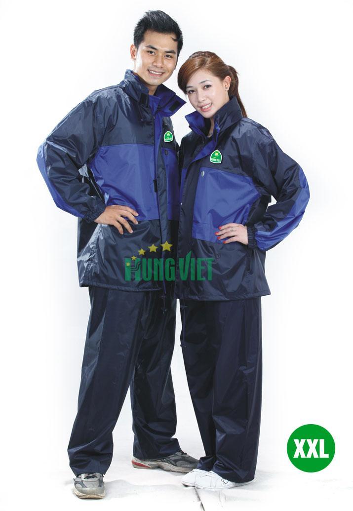 Hình ảnh Bộ quần áo mưa 2 lớp Hưng Việt