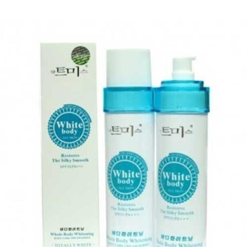 Body white - Kem dưỡng trắng da toàn thân, có chất chống nắng SPF 35 PA +++ 150ml - Hàng Hàn Quốc