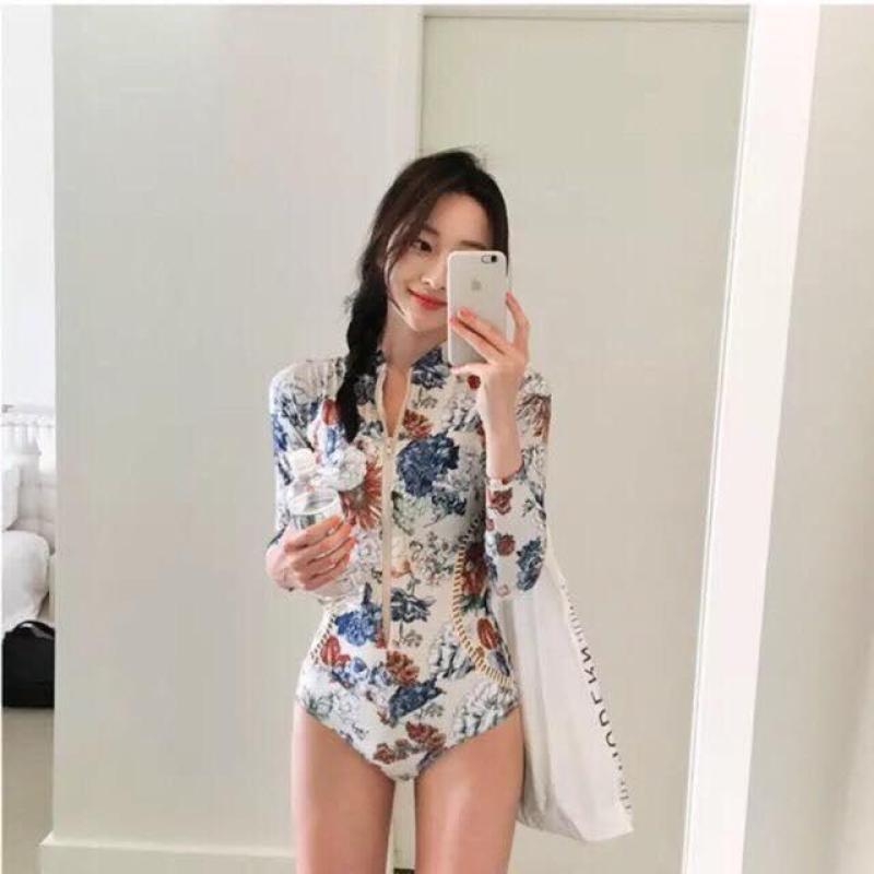 Nơi bán Bộ đồ bơi Bikini Korea dài tay - 2362