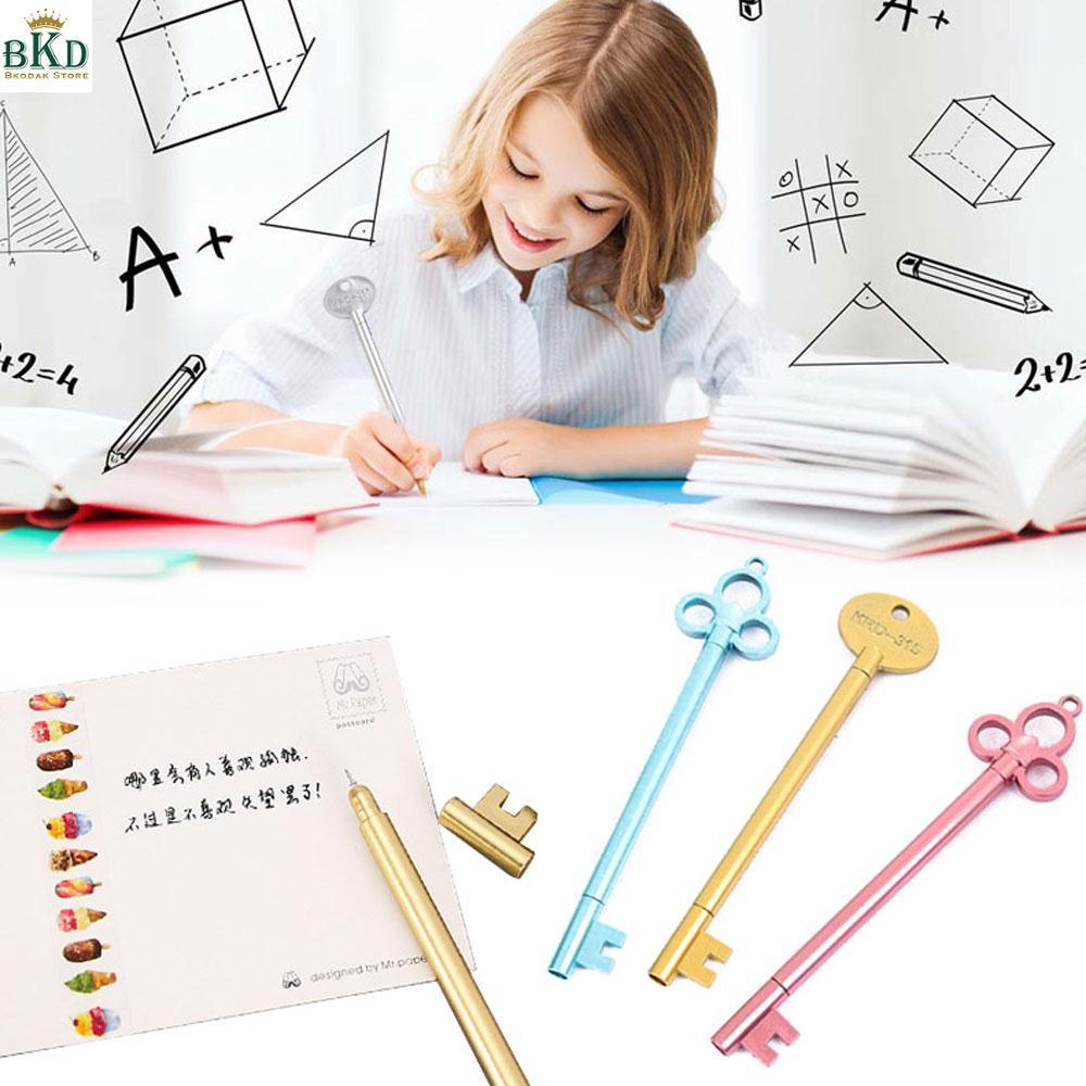 Mua Bkodak Store Key Shape Black Ink 3pcs/Lot Gel Pen Gel Ink Pen Ballpoint Pen