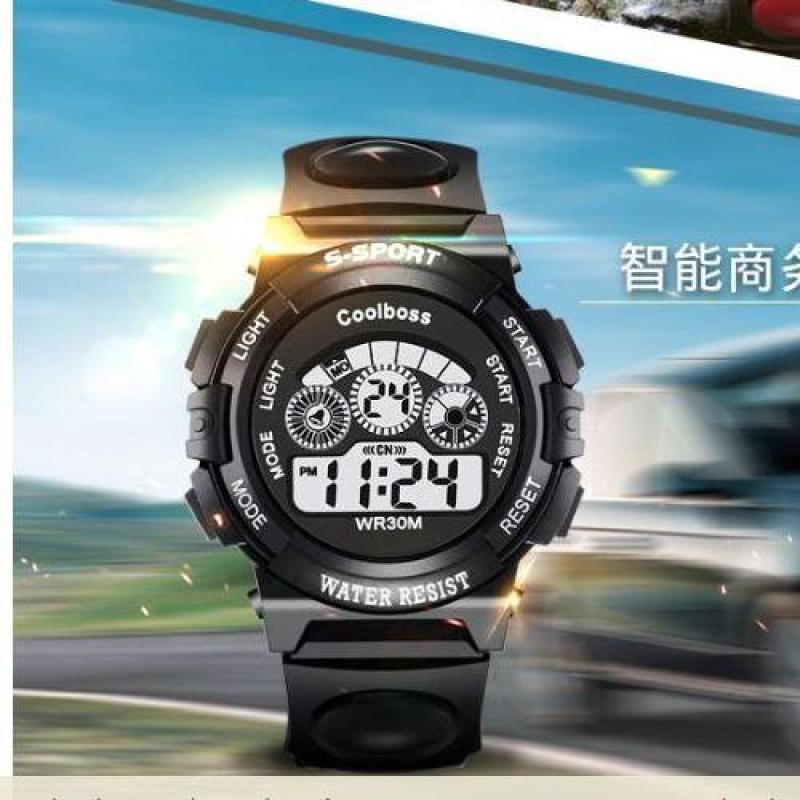 Nơi bán Đồng hồ trẻ em dây cao su GOLDTIME Coolboos 0119 ( Màu đen)