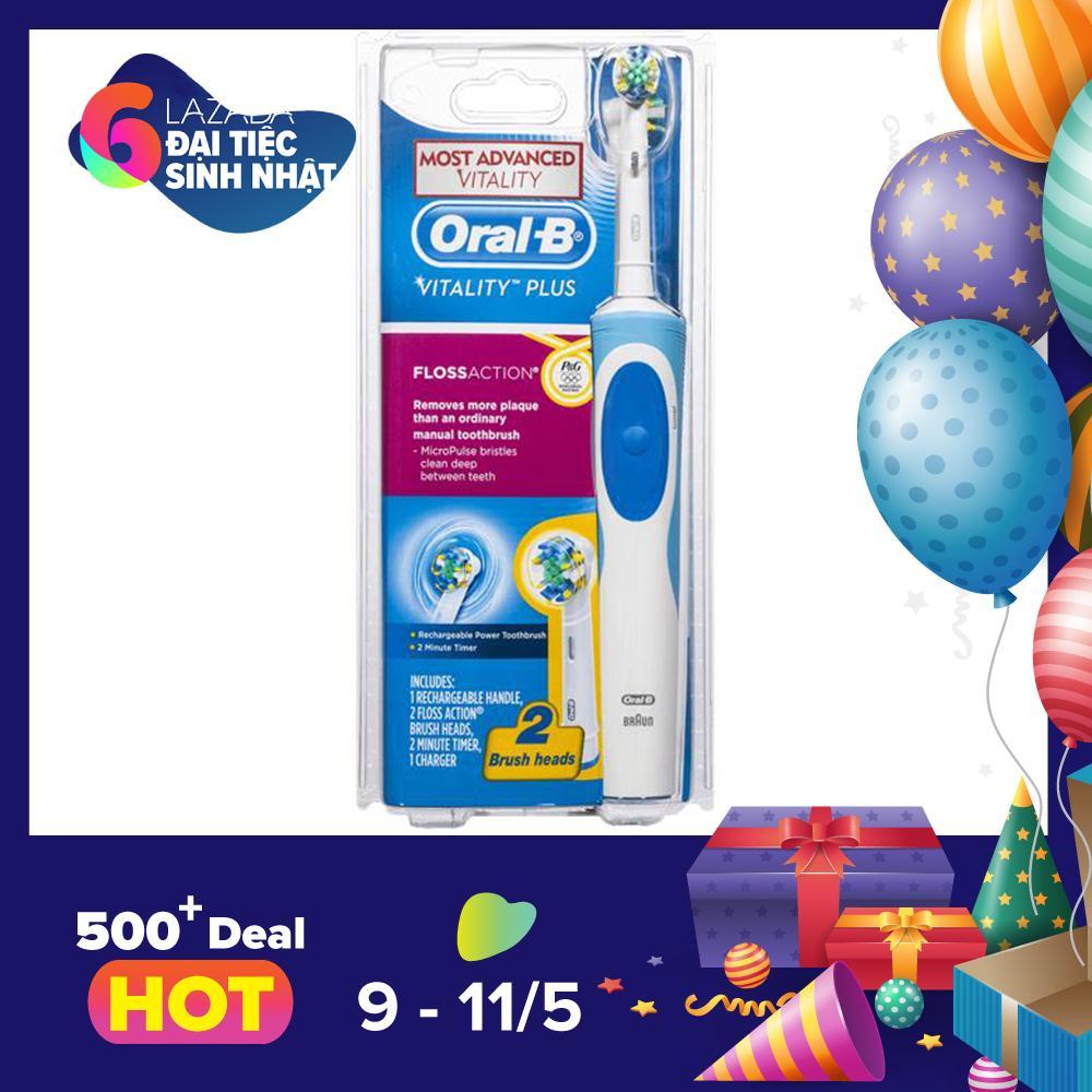 Chiết Khấu Sản Phẩm Ban Chải Đanh Răng Điện Oral B Vitality Plus Floss Action