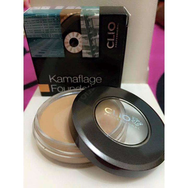 KEM NỀN CHE KHUYẾT ĐIỂM CLIO KAMAFLAGE FOUNDATION tốt nhất