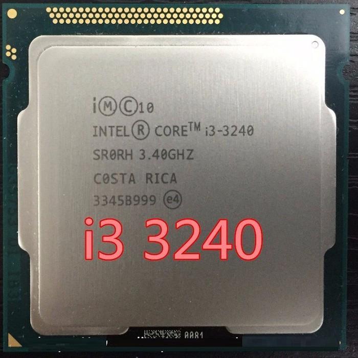 Hình ảnh CPU Intel Core I 3-- 3240 Tray