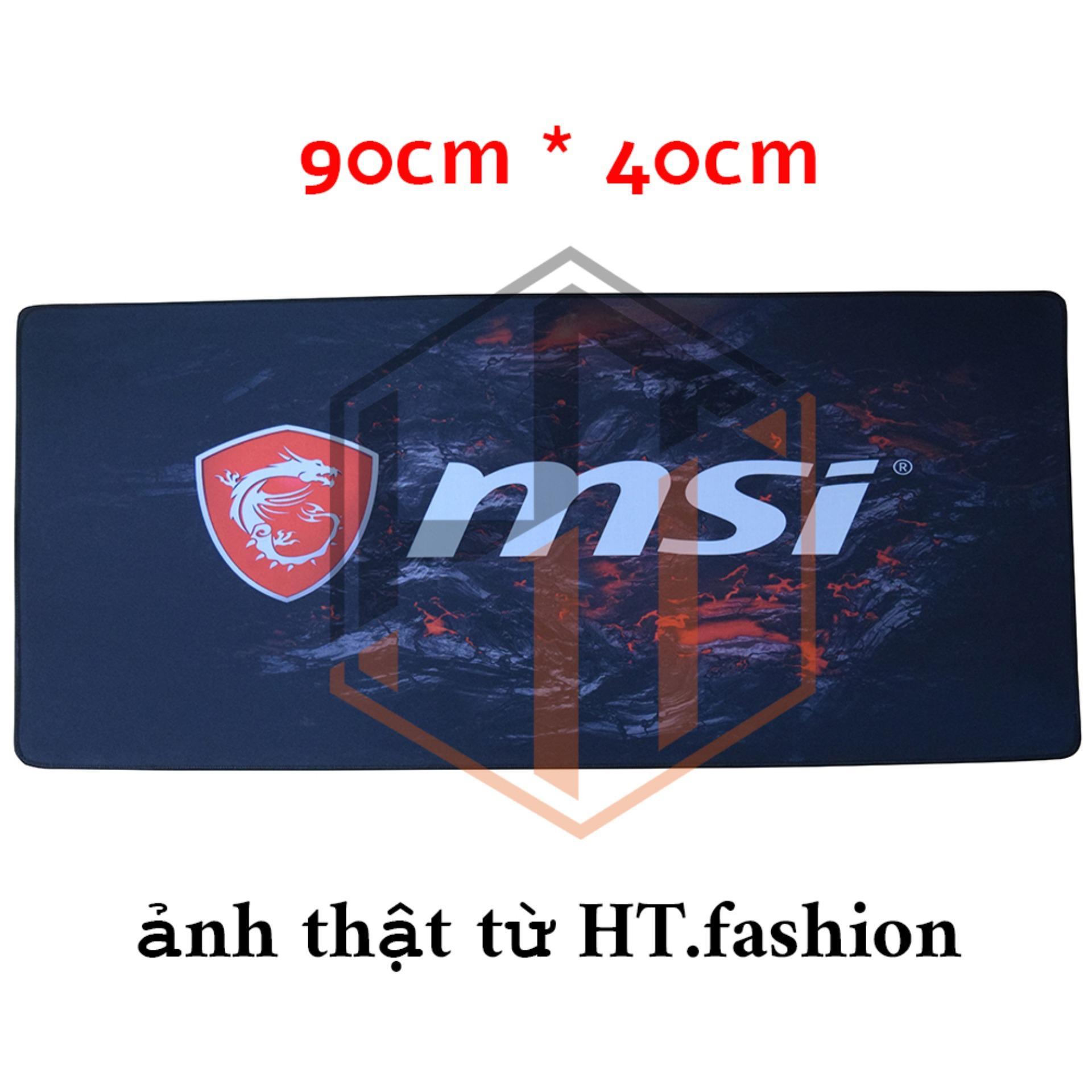 Hình ảnh HT.fashion - Bàn di chuột MSI (pad MSI) khổ lớn 90cm x 40cm