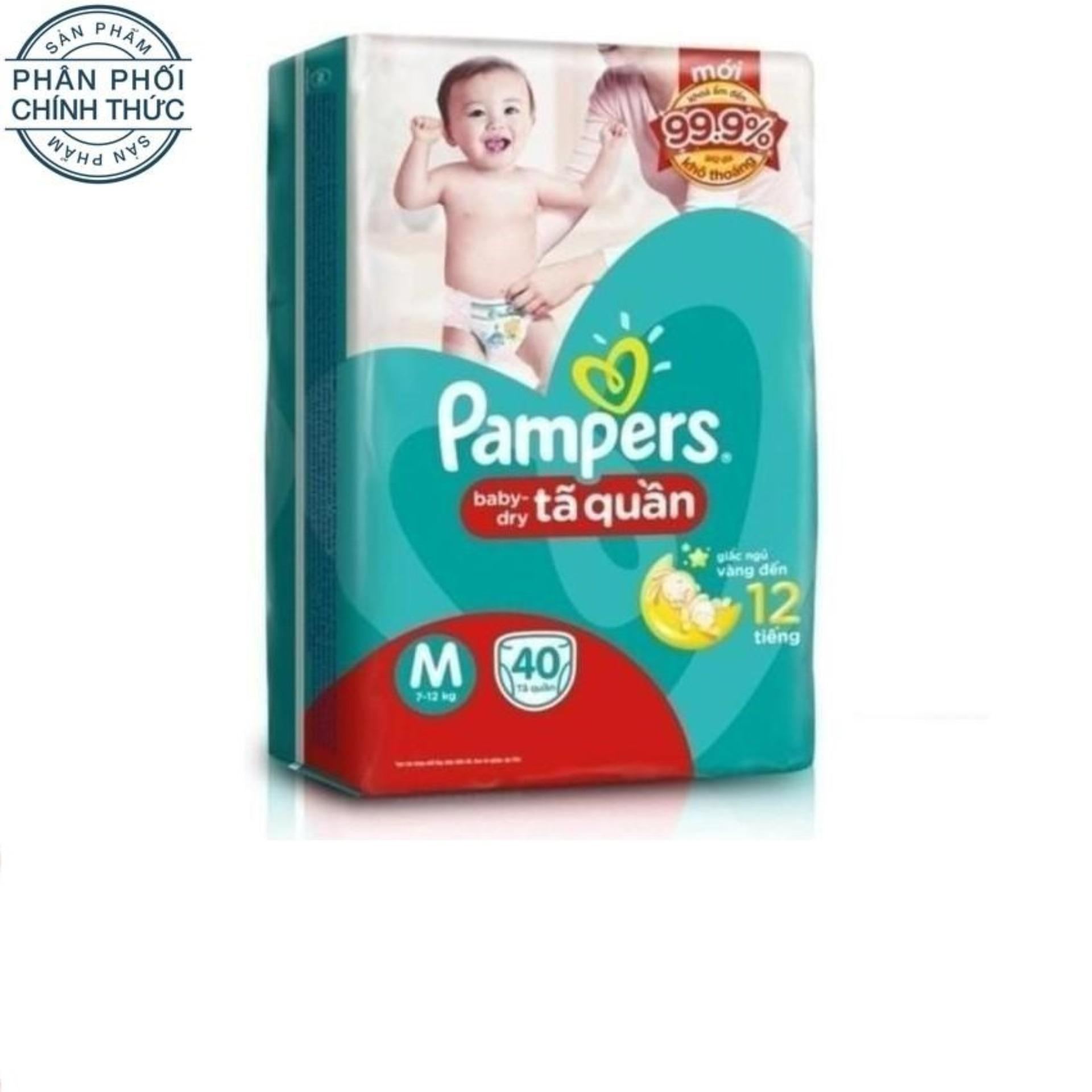 Bán Ta Quần Pampers Size M 40 Miếng 7 12Kg Pampers