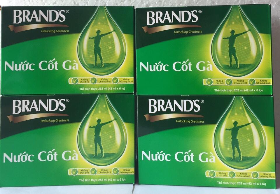 Ôn Tập Nước Cốt Ga Brand S 42Ml Bộ 24 Hũ Nhập Khẩu Từ Thai Lan Pp Sam Yến Thai An