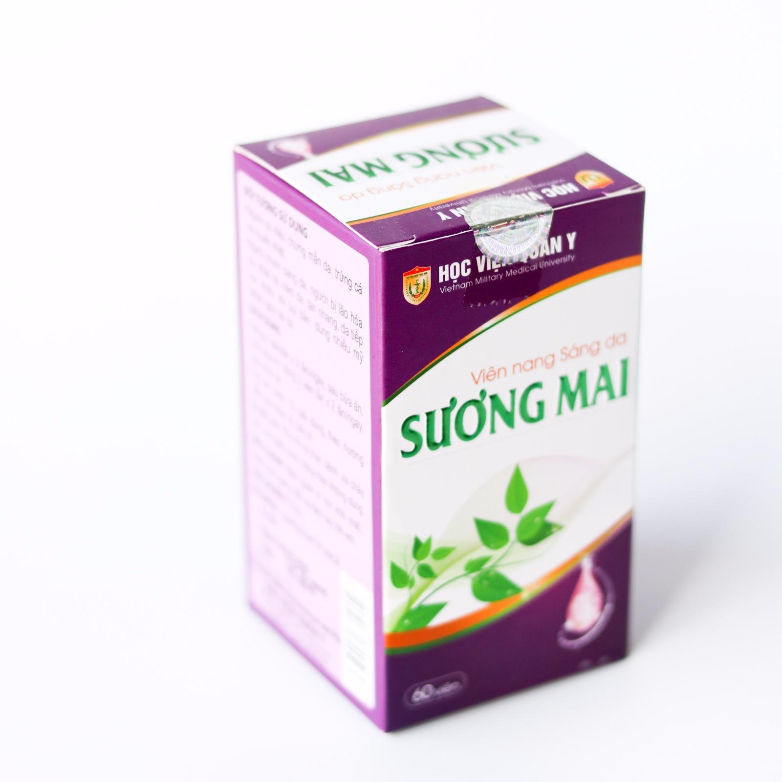 Mua Vien Uống Sang Da Sương Mai Học Viện Quan Y 60 Vien Trong Hồ Chí Minh