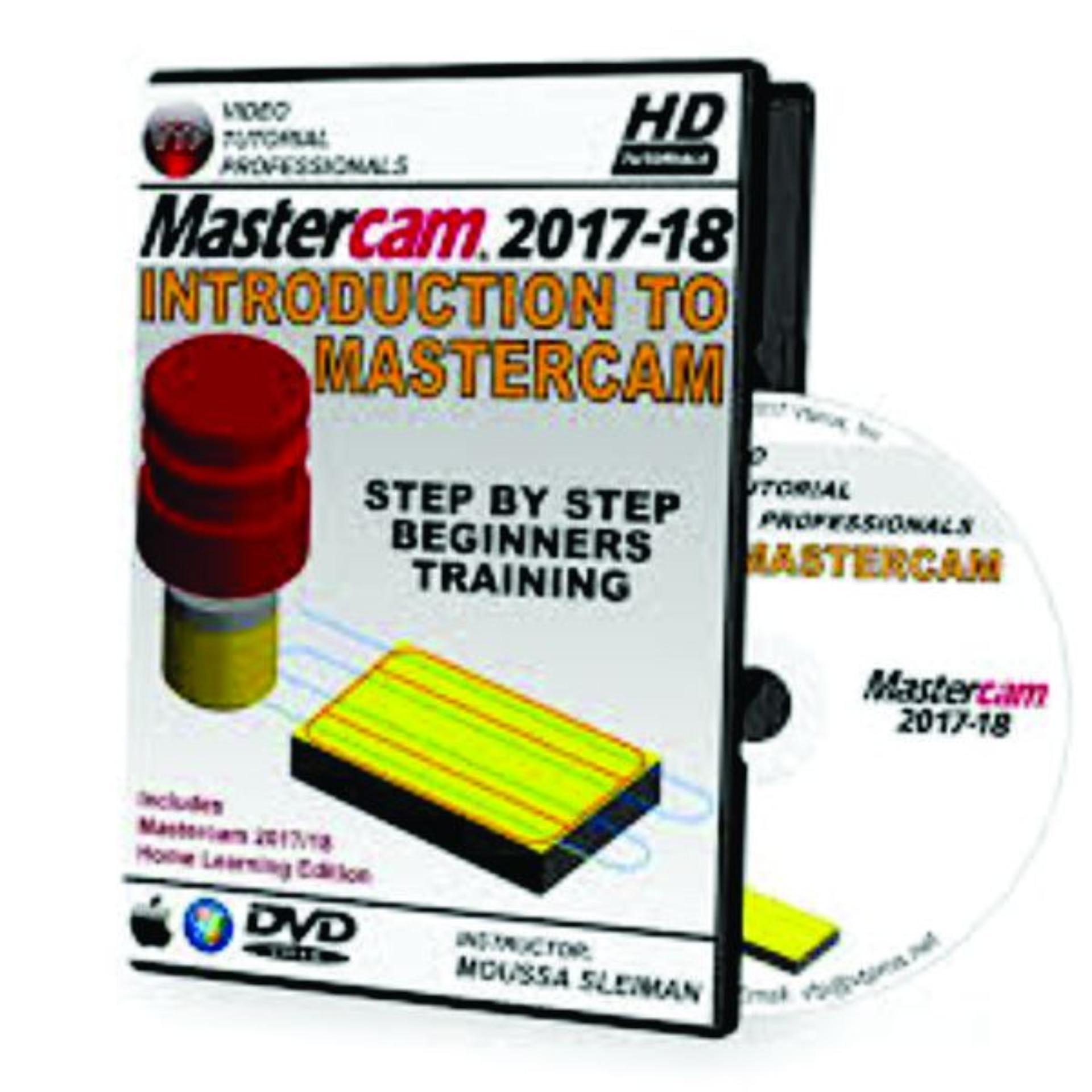 Hình ảnh Bộ DVD Mastercam 2018 FULL _ Giáo Trình A_Z