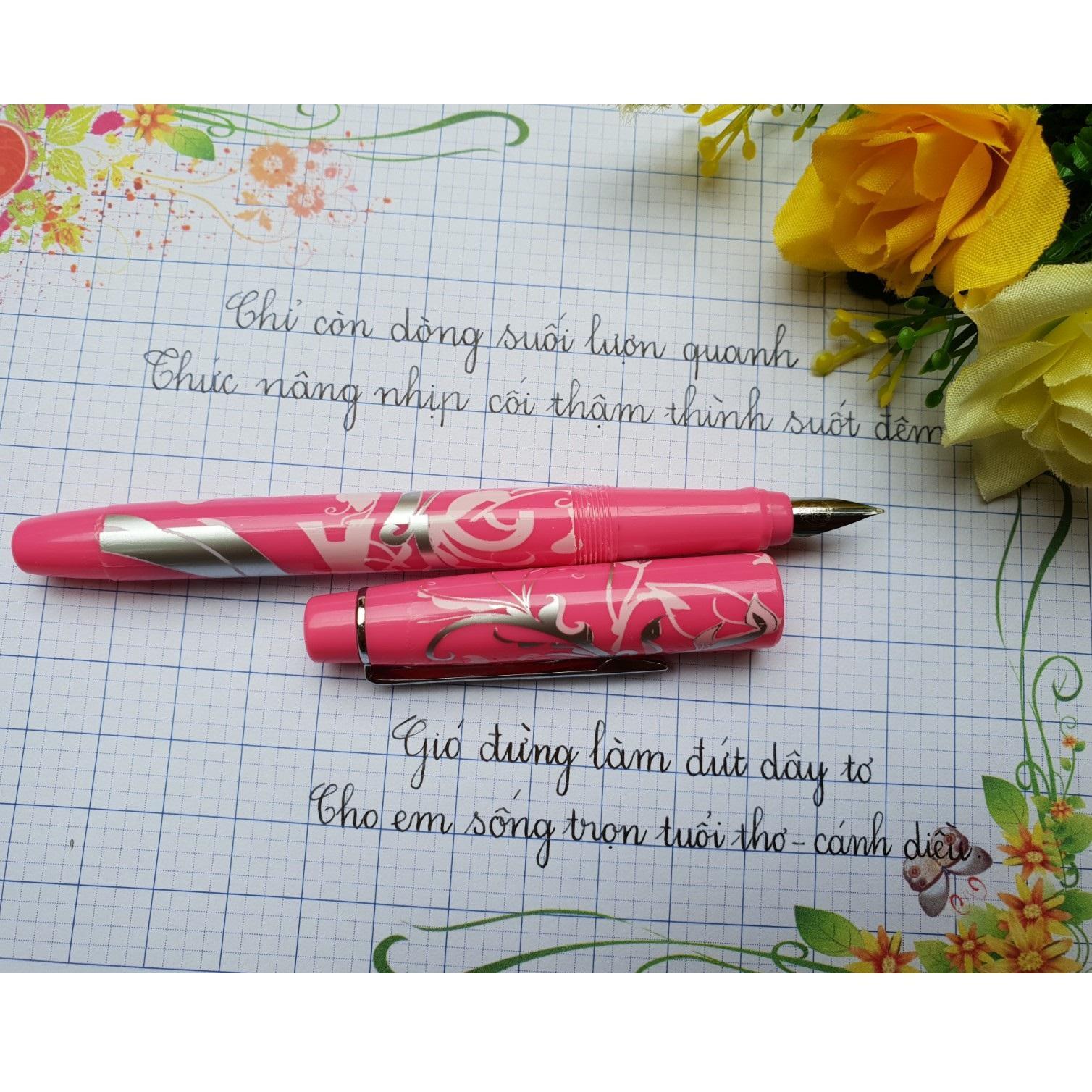 Mua Bút JOYKO (Ấn Độ) - Bút luyện viết chữ đẹp Siêu nhẹ, bền, đẹp (Kèm 2 ngòi mài)