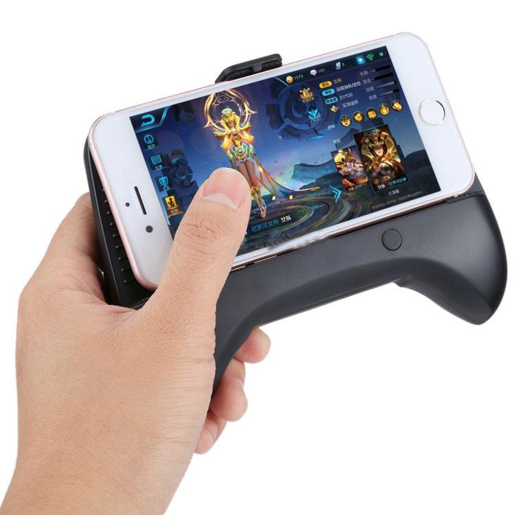 Tay cầm chơi game kiêm Quạt tản nhiệt điện thoại 4-6,8 inch