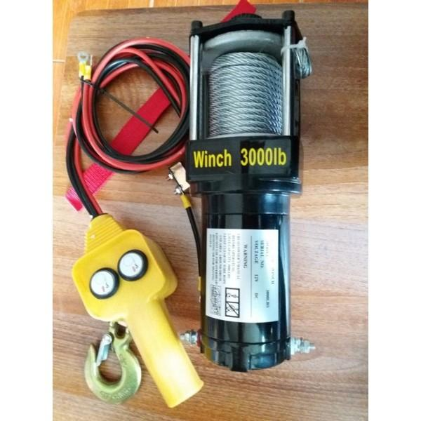 Tời điện 12V-3000