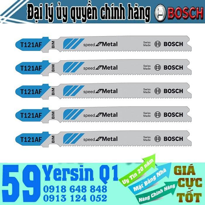Bộ 5 Lưỡi Cưa Lọng Bosch T 121 AF - Xanh 2608636699