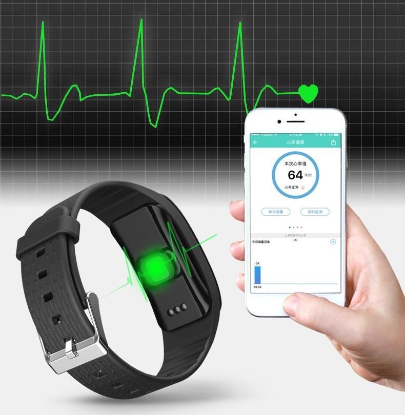 Hình ảnh Vòng tay thông minh đo huyết áp, nhịp tim, oxi trong máu A59