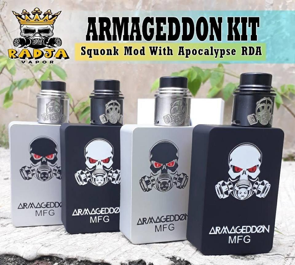 Vape #Squonk #ARMAGEDDON #BoxKit tặng kèm tinh dầu 10ml hương tùy chọn