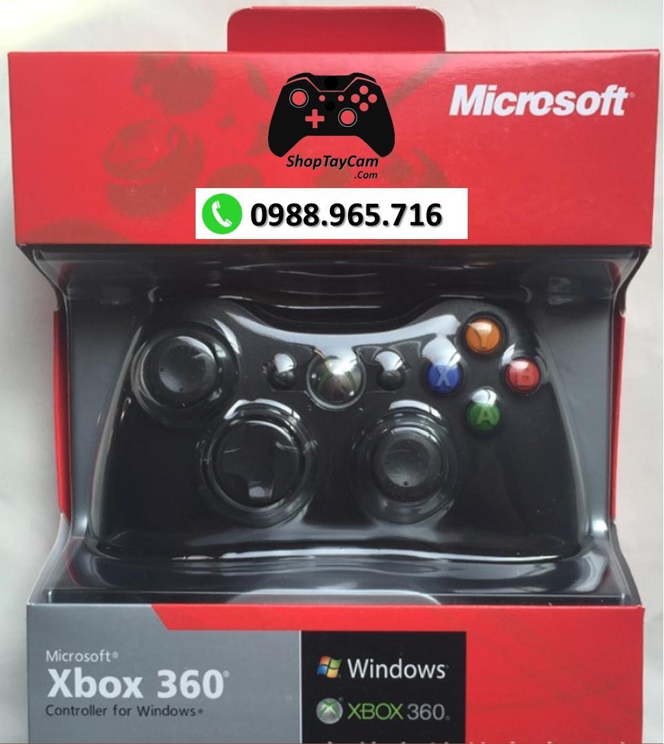 Hình ảnh Tay Cầm Xbox 360 Controller Có Dây Chơi Game Cho PC / FO3 / FO4 Loại Thường [ BÁN CHẠY ]