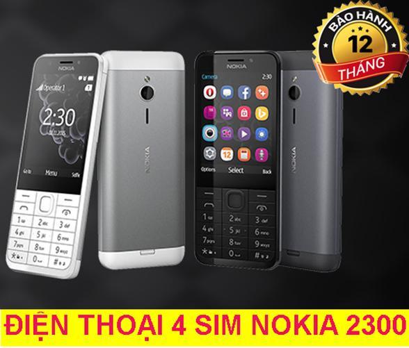 Bán Mua Điện Thoại 4 Sim Nokia 230 Gia Rẻ Mới Việt Nam