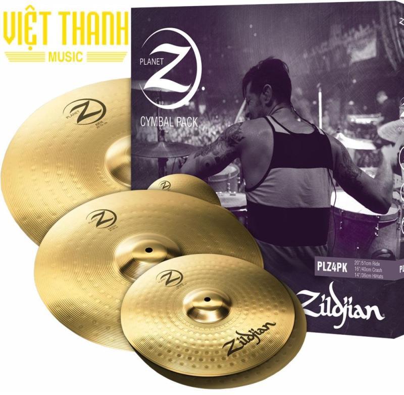 Bộ Lá Cymbal Trống Jazz Zildjian PLZ4PK Thương Hiệu Mỹ ,Sản Xuất Tại Mỹ. Tặng Kèm Cặp Dùi Mỹ Zildjian