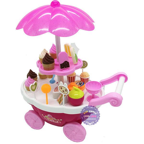 Hình ảnh Bộ đồ chơi xe đẩy kem có nhạc