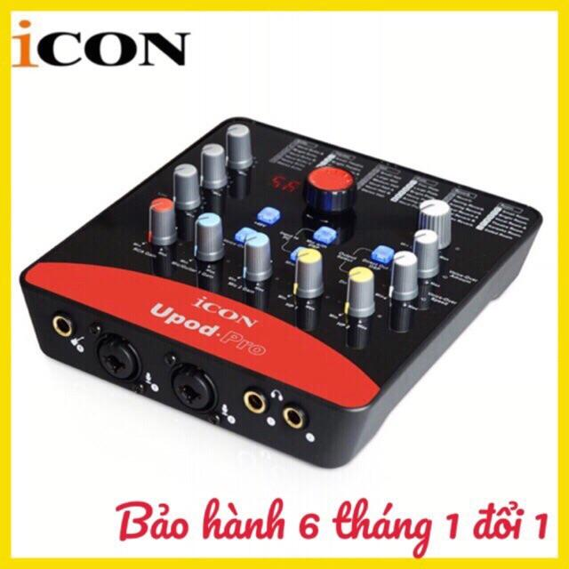 Bán Card Thu Am Livestream Icon Upod Pro Bảo Hanh 6 Thang Việt Nam Rẻ