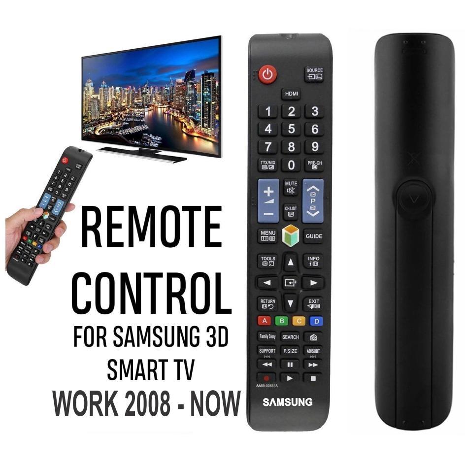 Hình ảnh Điều khiển Đa năng cho TV Samsung LCD, LED, Plasma, Smart TV (Tiêu chuẩn)