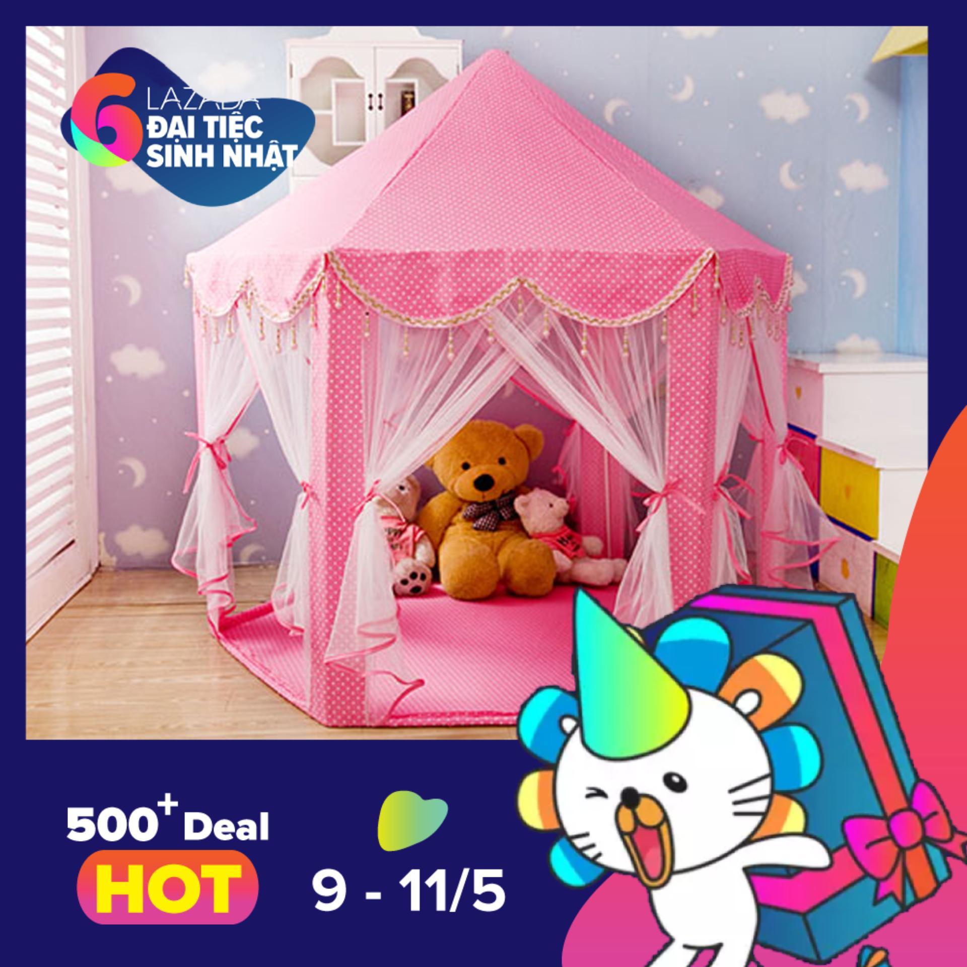 Cửa Hàng Lều Cong Chua Phong Cach Han Quốc Cho Be Hồng Kmart None Hà Nội