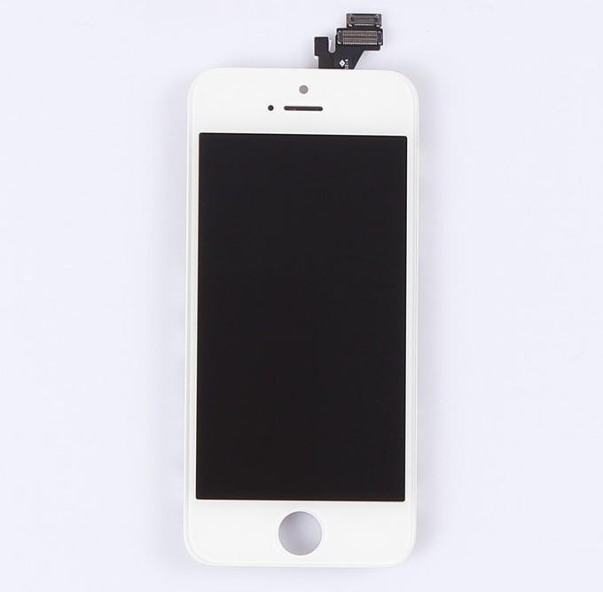Hình ảnh Màn hình cho iphone 5 full bộ kèm kính cường lực và dán chống xước vỏ máy