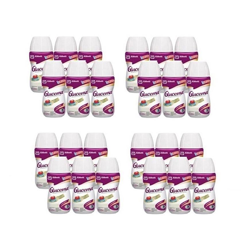 Hình ảnh Thùng 24 chai sữa nước Glucerna dạng chai 220ml