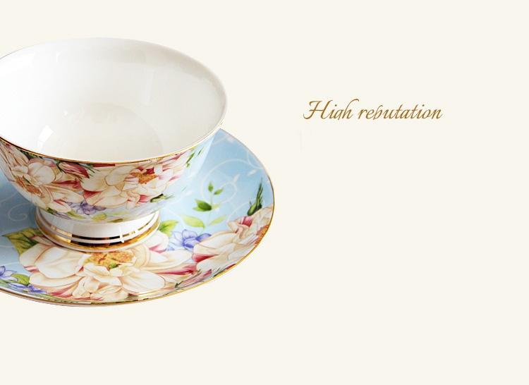 Bộ ấm trà sứ xương cao cấp