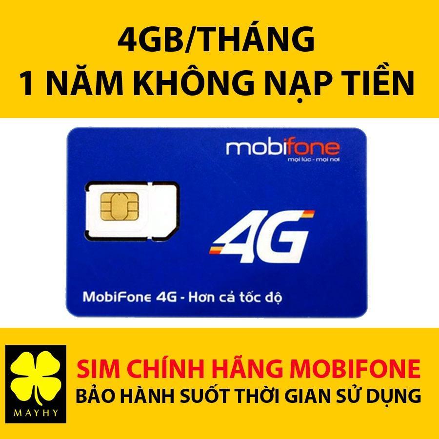 Bán Sim 4G Mobifone Mdt250A Giống F500 4Gb Thang Miễn Phi 1 Năm Rẻ Nhất