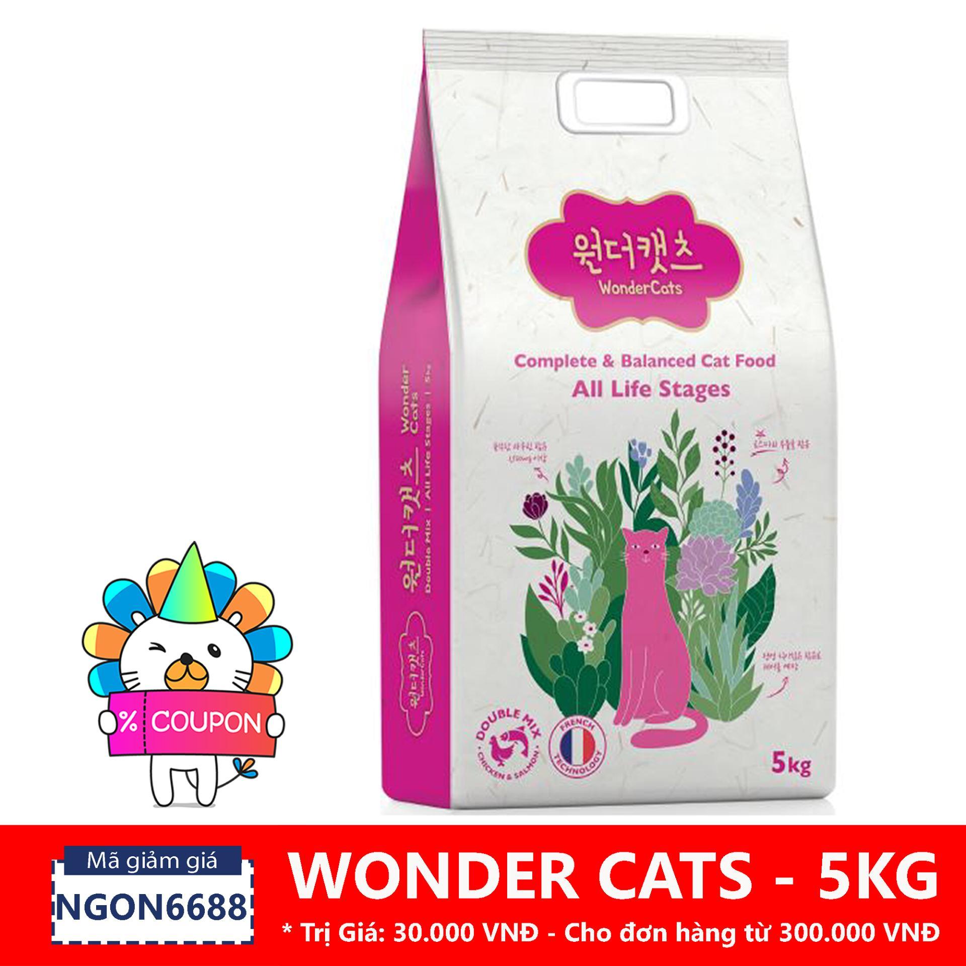Bán Hạt Cho Meo Wonder Cats 5 Kg Wonder Cats Trong Hà Nội