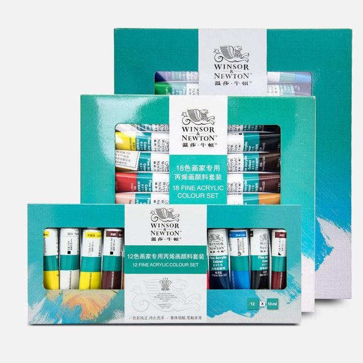 Mua Set 18 Màu acrylic Winsor & Newton