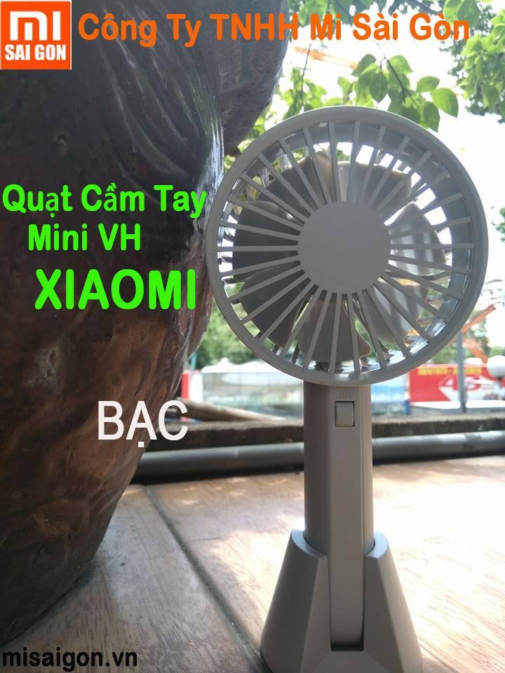 Hình ảnh Quạt mini cầm tay VH xiaomi ( Bạc )