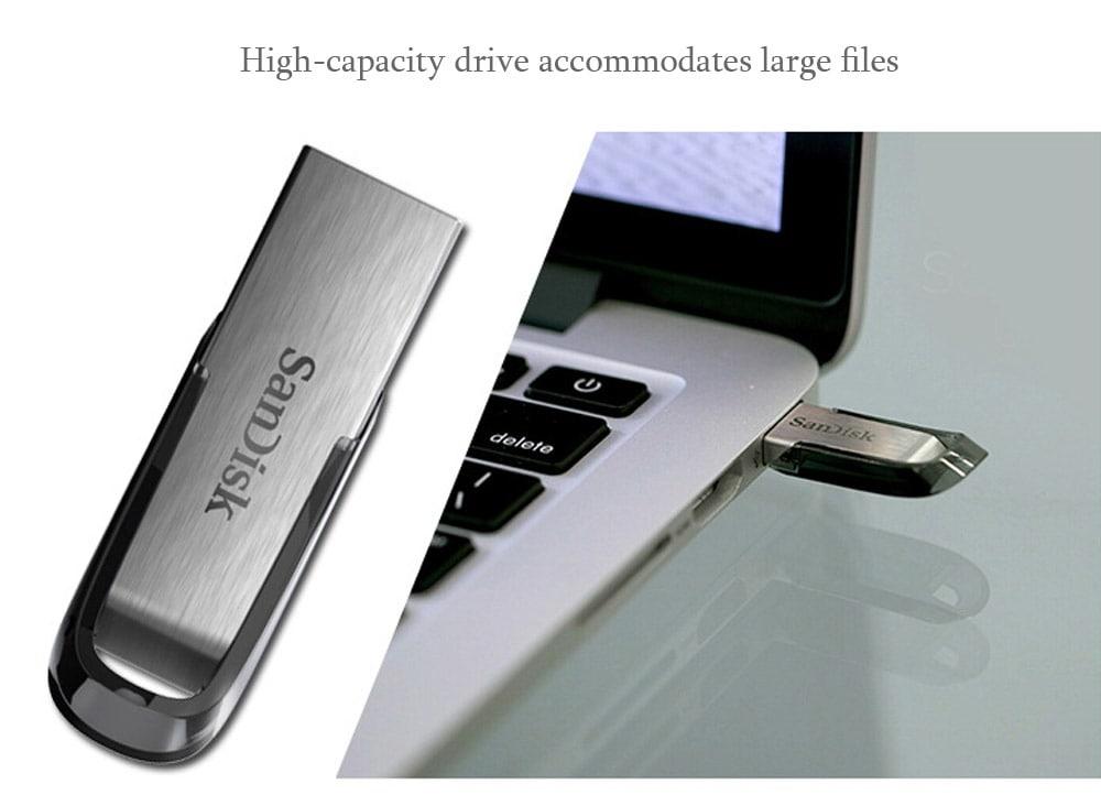 USB 3.0 SanDisk Ultra mỏng nhỏ gọn