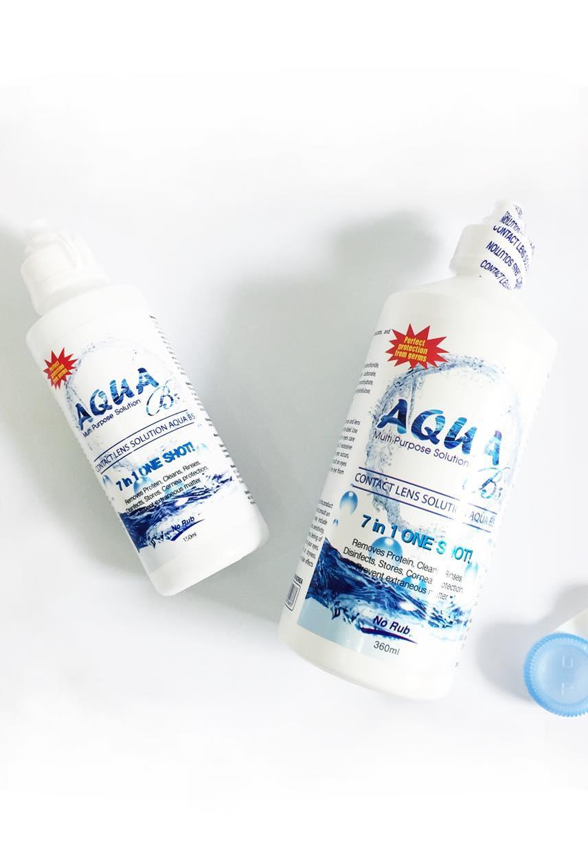 nước ngâm lens Aqua 150ml