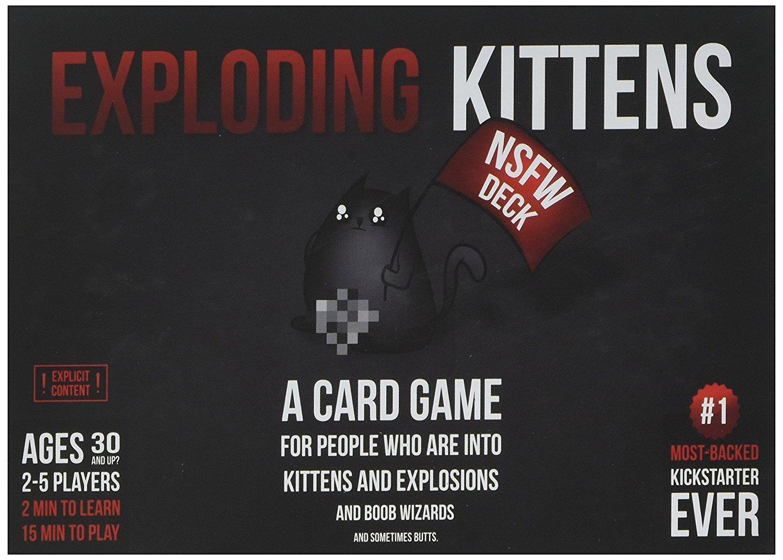 Hình ảnh Exploding Kittens - Mèo Nổ phiên bản 18+