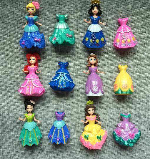 Hình ảnh Set 6 nàng công chúa thay váy