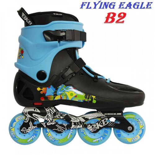 Giày patin Flying Eagle BKB B2 - Giày trượt patin đẳng cấp và chuyen nghiệp - Giày patin Flying Eagle chất lượng theo tiêu chuẩn Châu Âu - Giày trượt patin Flying Eagle BKB B2 nhiều size, nhiều màu sắc thích hợp cho mọi lứa tuổi