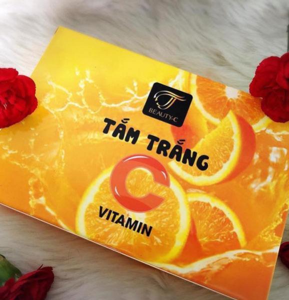 Hình ảnh Tắm trắng Cam vitamin C