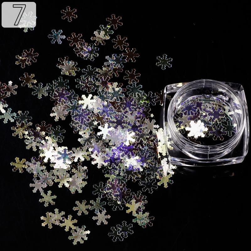 Kim Tuyến trang trí móng tay - 5 gram (mã Hoa Tuyết 7) nhập khẩu