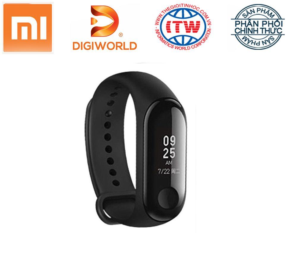 Hình ảnh Vòng đeo tay Xiaomi Miband 3 - Hãng phân phối chính thức Digiworld