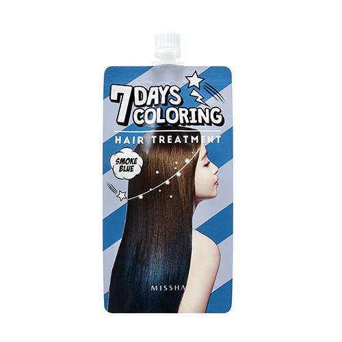 Hình ảnh Nhuộm tóc ombre đơn giản chỉ trong 5 phút Missha 7 Days Coloring Hair Treatment - Smoke Blue