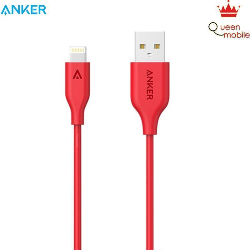 Cáp Sạc Siêu Bền bọc dây kevlar Powerline+  dành cho điện thoại android Micro USB (6ft/1.8m) Red with Offline Packaging V3 with Pouch – Review và Đánh giá sản phẩm