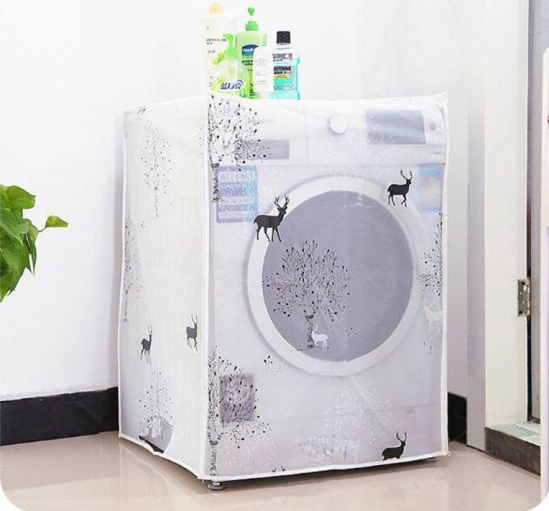 Áo trùm máy giặt mẫu mới loại dày cao cấp - cửa trên - cửa trước