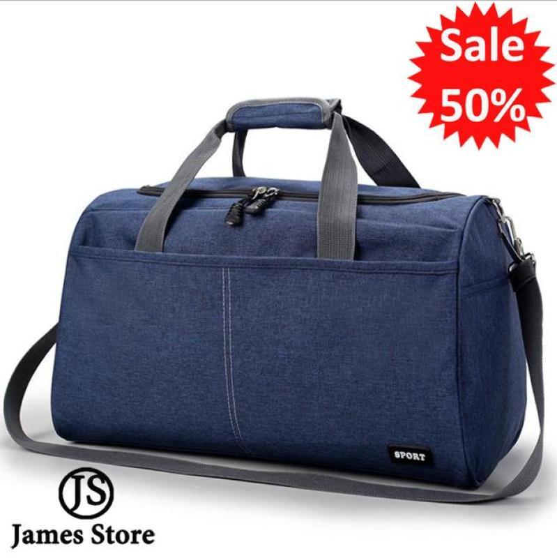 Túi xách du lịch thời trang Hàn Quốc cao cấp cỡ lớn (Xanh navy)